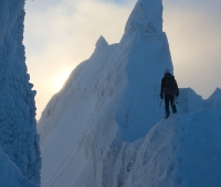 Vinterklatring på Brekketind 2013